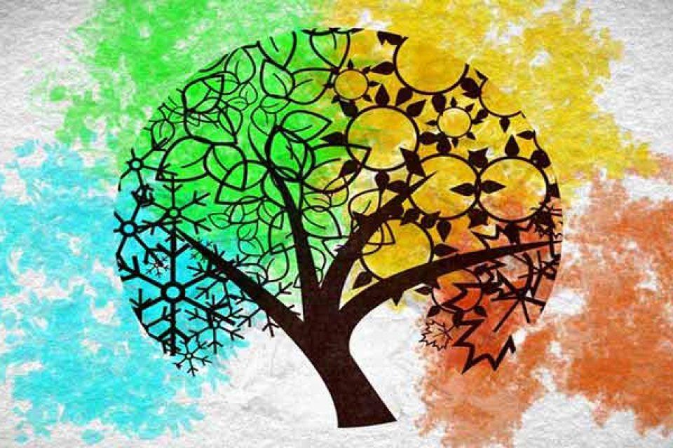 مزاج شناسی فصل ها ، مزه ها، اعضای بدن و کل هستی